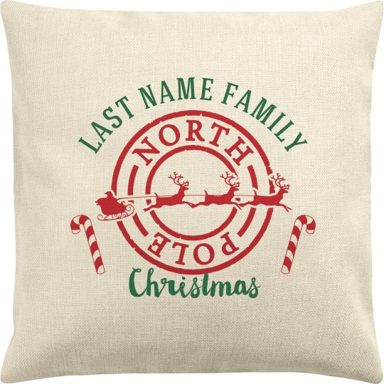 Custom Family Christmas Pillowcase for Home