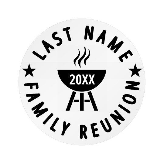 Custom Family Cookout Reunion