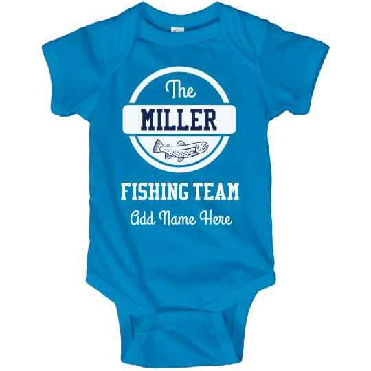Custom Family Fishing Team