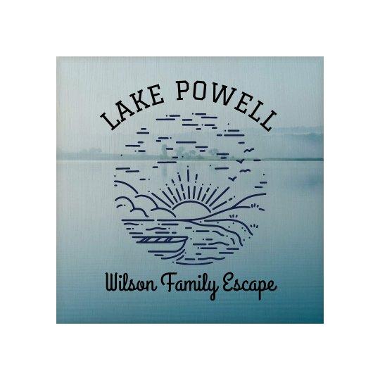 Custom Family Lake House Retreat Wall Art