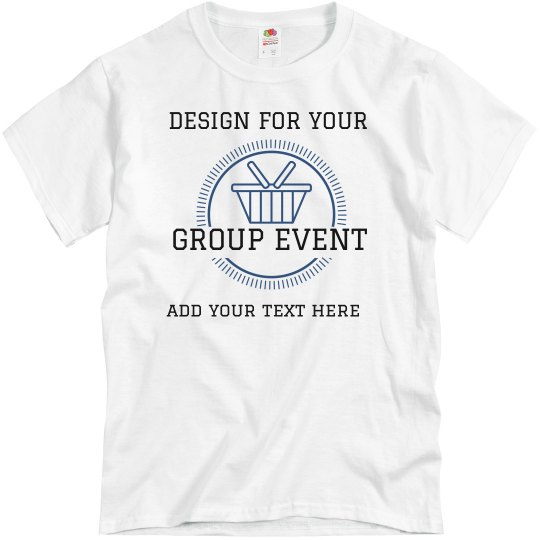 Custom Family Name Reunion Picnic Tee