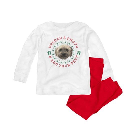Custom Family Pet Photo Ugly Pajamas
