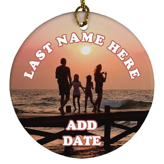Custom Family Photo Gift