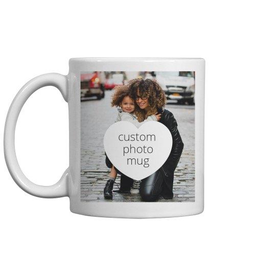Custom Family Photo Mug