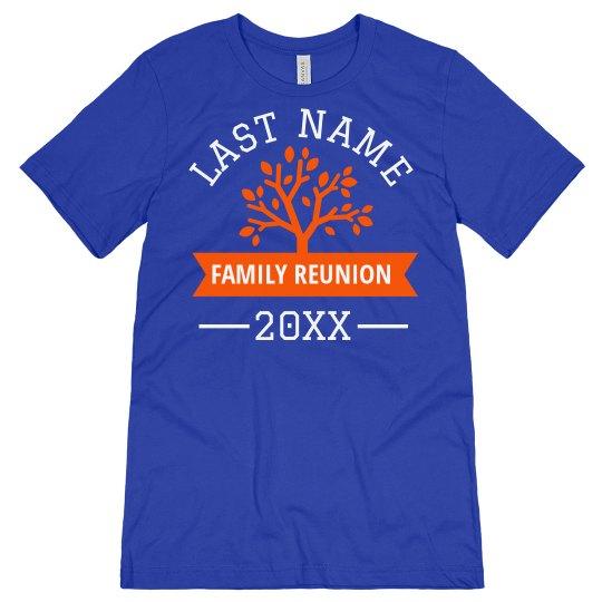 Custom Family Reunion Design