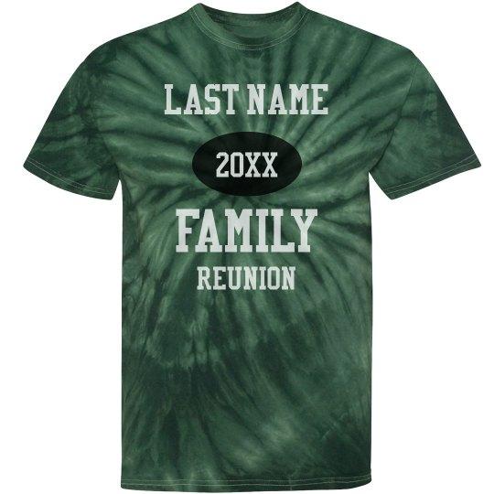 Custom Family Reunion Group Tees