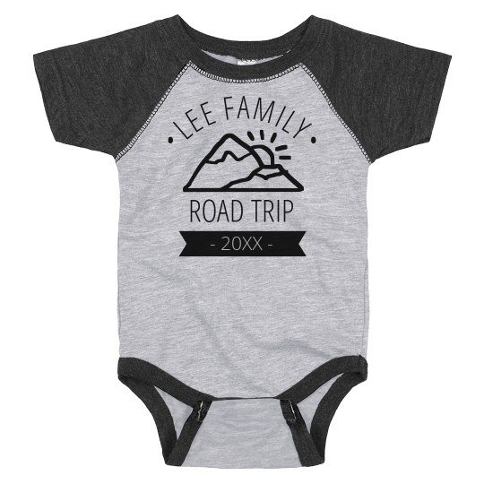 Custom Family Road Trip Bodysuit