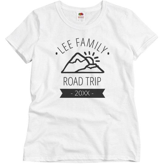 Custom Family Road Trip Tee