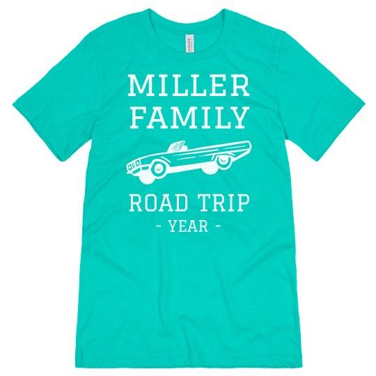 Custom Family Road Trip Tees