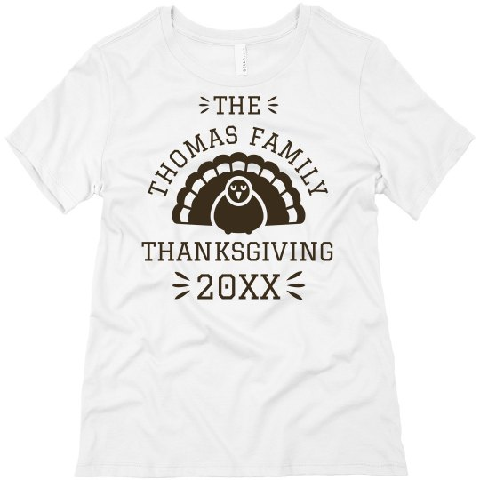 Custom Family Thanksgiving Design