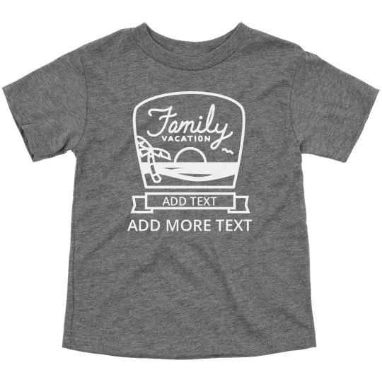 Custom Family Vacation Design
