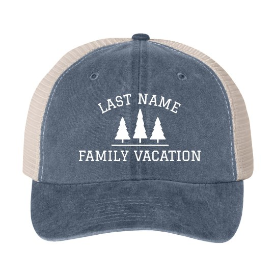 Custom Family Vacation Matching Hats