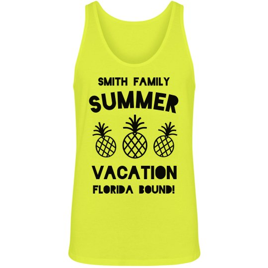 Custom Family Vacation Tanks
