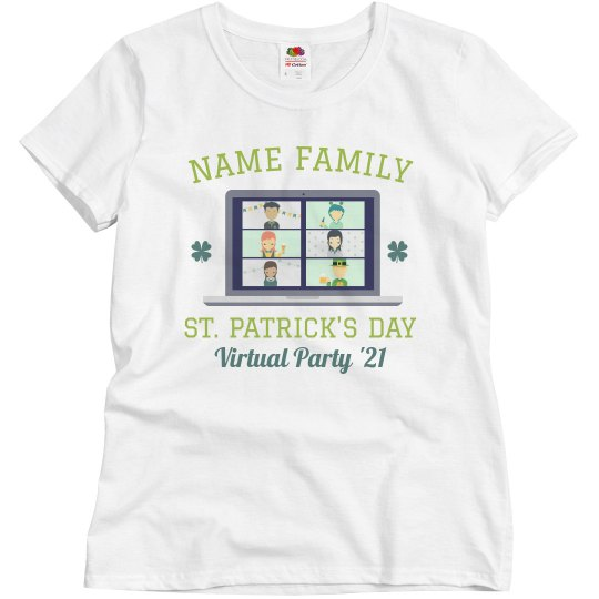 Custom Family Virtual Drinking Tee