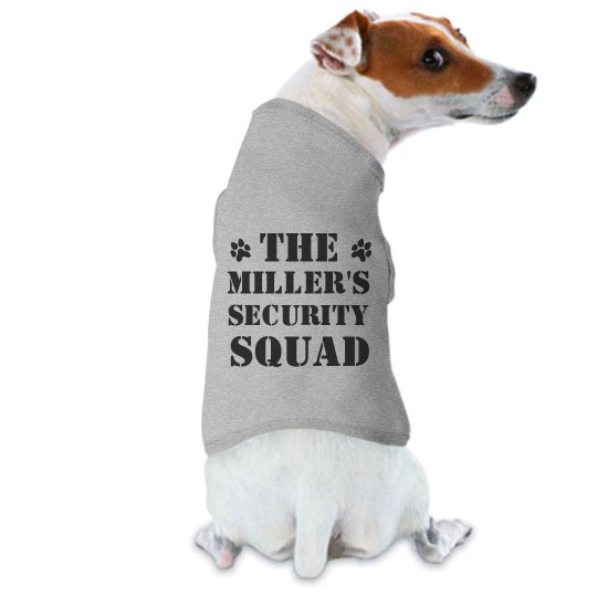 Custom Family's Dog Security Squad