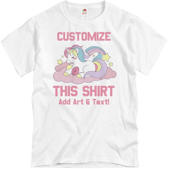 Custom Fantasy Football Loser Glitter Tee