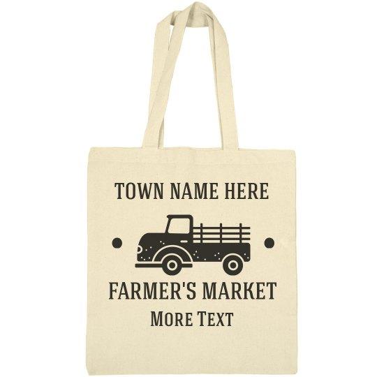 Custom Farmer's Market Add Text