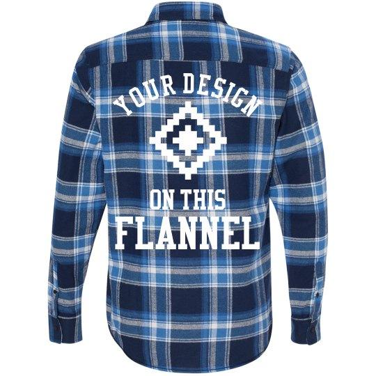 Custom Fashion Flannel Design