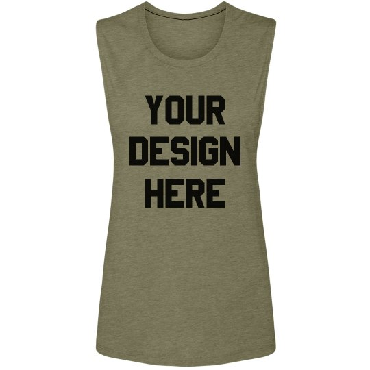 Custom Fashion Tank For Workouts