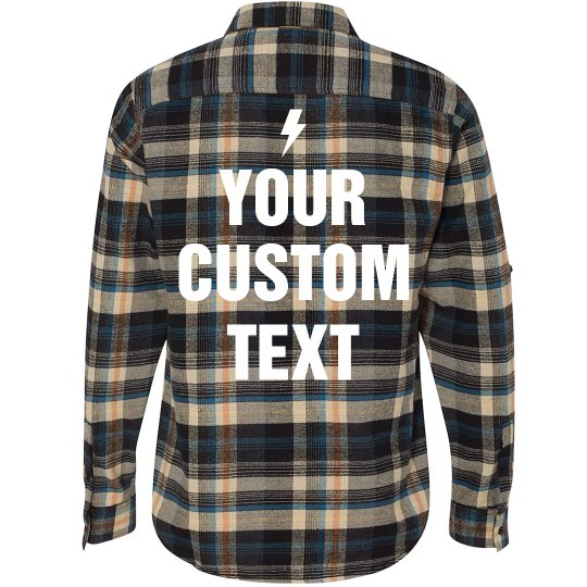 Custom Flannel Shirt