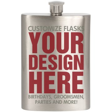 Custom Flasks for Gifts!