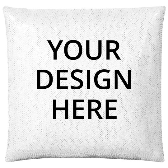 Custom Flip Sequin Pillow
