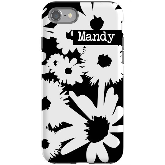 Custom Floral iPhone Case