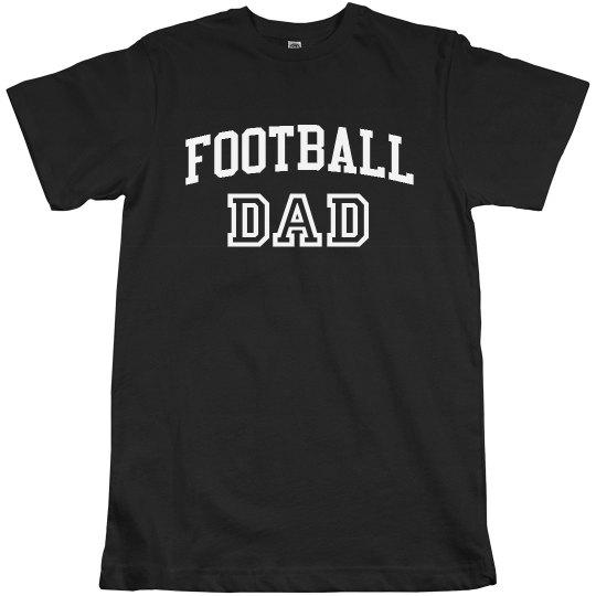 Custom Football Dad Design