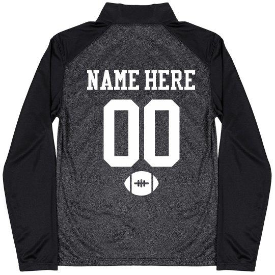 Custom Football Dad Pullover