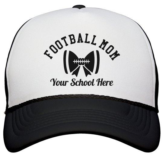 Custom Football Mom Cap