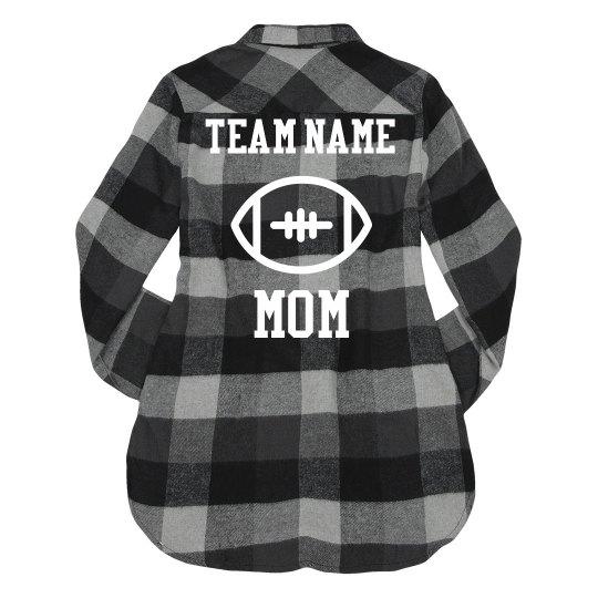 Custom Football Mom Flannel