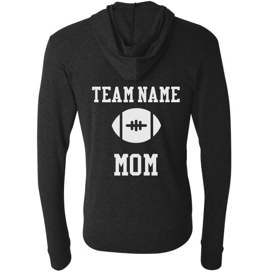 Custom Football Mom Hoodie