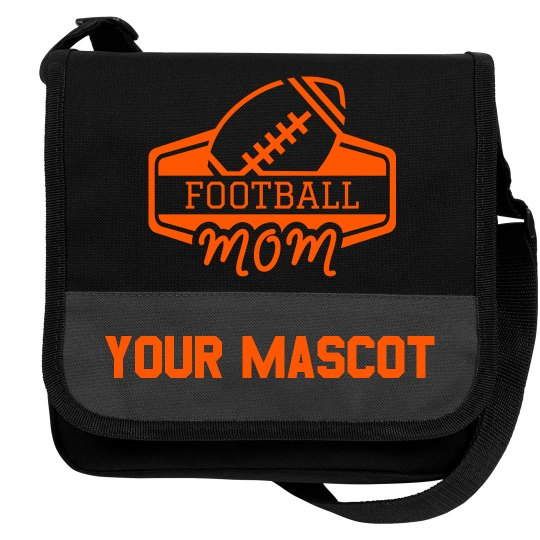 Custom Football Mom Mascot Cooler