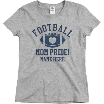 Custom Football Mom Shirt