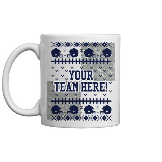 Custom Football Mug