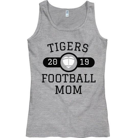 Custom Football Team Mom