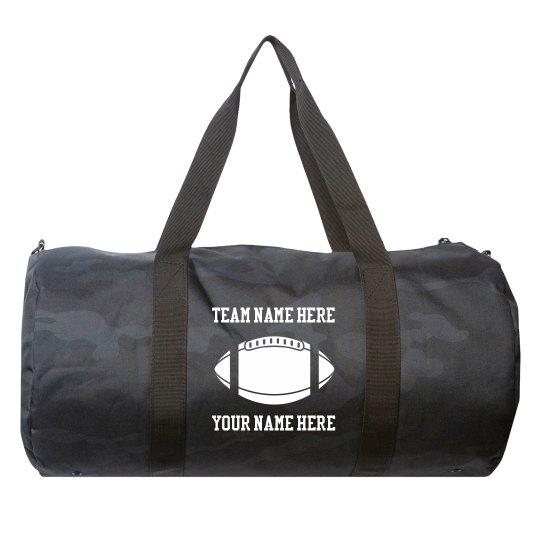 Custom Football Team Sports Bag