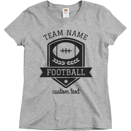 Custom Football Team Tees