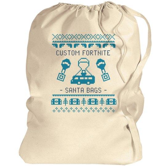 Custom Fortnite Santa Bags