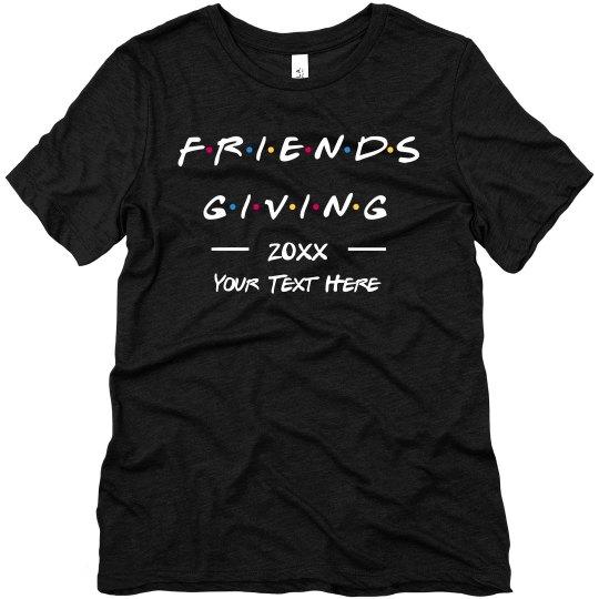 Custom Friendsgiving Group Tee