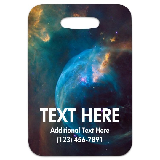 Custom Galaxy Space Travel Gift