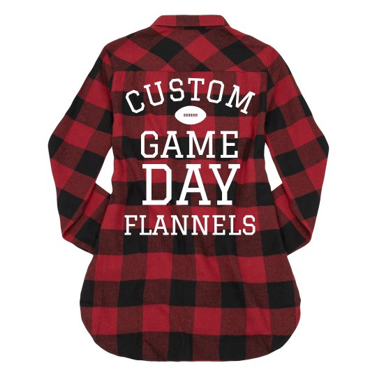 Custom Game Day Trendy Plaid