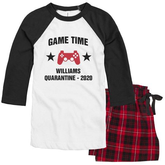 Custom Gaming Quarantine Pajamas