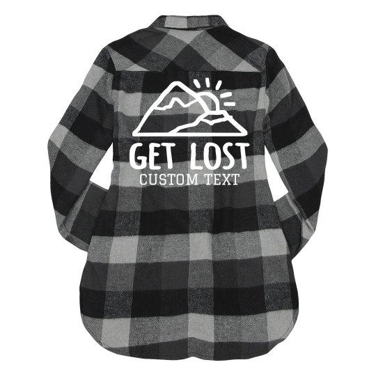 Custom Get Lost Hiker
