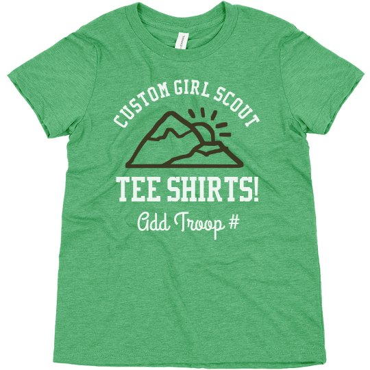 Custom Girl Scout Outing Design