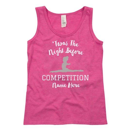 Custom Girls Competition Tank Top