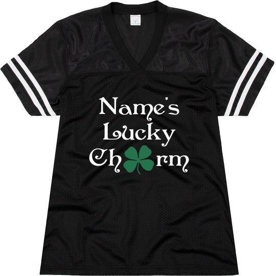 Custom Glitter Lucky Charm Jersey