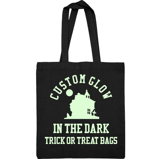 Custom Glow In The Dark Trick Or Treat