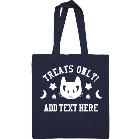 Custom Glow-In-The-Dark Cat Bag