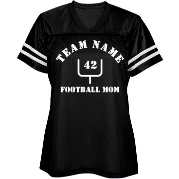 Custom Goalpost Football Mom